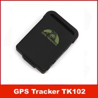 Wholesale Complete Accessories Mini Car Vehicle GPS Tracker TK102 Mini Global GPS Tracker Real Time bands GPS GSM GPRS Tracking Device