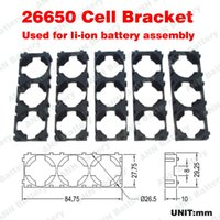 Wholesale 26650 lifepo4 battery bracket P holder used for high power battery assembly
