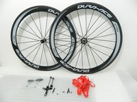 Wholesale carbon wheels matte finish road bike carbon wheeset clincher with powerway hubs
