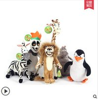 alex baby toys - HOT SALE MADAGASCAR CHARACTER TEAM CHARACTERS PLUSH TOYS ALEX GLORIA MARTY MELMAN GIA JULIEN STUFFED TOYS BABY TOY KIDS GIFT