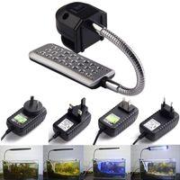 glass fishbowl - LEDs Aquarium Fishbowl Clip Light Lamp For Coral Reef aquatic animals EU LEDs UK MTY3