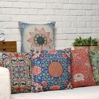 Wholesale Ikea X45cm Retro Floral Pillow Case Cushion Cover Decor Home Creative Deer decorative throw pillows Cover