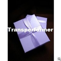 Cheap Wholesale High quality Jewelry packing and display Jewelry gift Box Romantic Purple color Ring Box gift box RJ1320