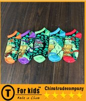 Wholesale Ninja turtle cartoon kids cotton boys girls Socks Christmas gifts for children Child Clothes Kids Sock Baby Boys Grils Socks Children Socks