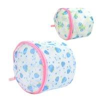 Wholesale Brand new Fashion Laundry Washing Aid Net Mesh Zip Bag for Underwear Bra Sock