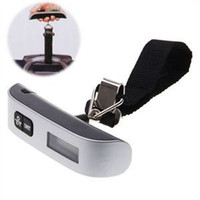 balance scales for sale - New Arrival kg Electronic Digital Hanging Luggage Balance Portable Weight Scale mini For Sale