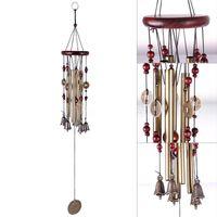 Wholesale Home decor Bells Living Tubes Wind Chimes Bells Antique Copper Wind Chimes Copper