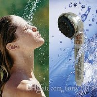 Wholesale New stylish high quality skincare negative ions tourmailne shower head for shower