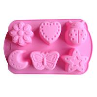 animal moon jellies - Karen Baking Lotus Moon Star And Animal Shape Muffin Sweet Candy Jelly Fondant Cake Chocolate Mold Silicone Tool Baking PanB144