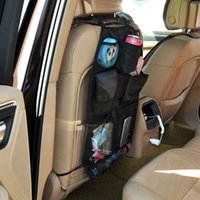 Wholesale Big discount Car Auto Back Seat Hanging Organizer Storage Bag Cup Holder Multi Use in stock