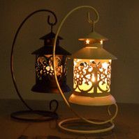 Wholesale New Arrive Iron Moroccan Style Candlestick Candleholder Candle Tea Light Holder Decor