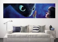 baby dragon stickers - Giant size how to train your dragon wall sticker for baby room wall x40cm x15 Inch d wallpaper