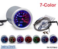 Wholesale 2 quot mm COLOR Exhaust Gas Temperature EGT Gauge Universal Smoke Face TK C7708 Have in stock