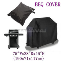 Wholesale Large Size Waterproof Barbecue BBQ Cover Grill Outdoor Dust Rain Protective x71x117cm order lt no tracking