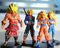 Wholesale New Dragon Ball Z DBZ Super Saiyan Goku Figures CM set
