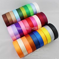 baby quilt material - 2cm Wide Ribbon Packaging ribbons Pure Color polyester ribbons Baby Accessories Material yard