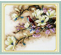 Wholesale Yulan classical Cross stitch finished products the new pure manual Customized cross stitch Household mural Exquisite gift