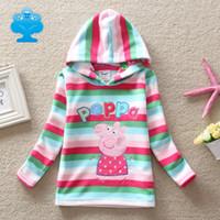 Wholesale NEAT kids hoodies new girls hoody sweater baby girls cartoon long sleeve embroidery children clothing P1116