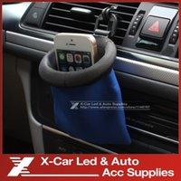 Wholesale Car Accessories Car Air Vent Mount Cell Phone Pocket Car Holder Vehicle Glove Bags Car Storage Bag Car Sundries Bags