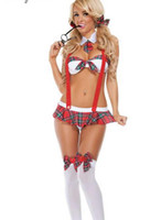 sexy clothes - Sexy lingerie Sexy Underwear Lady suit uniforms temptation role playing students loaded COSPLAY bikini clothing Brand New