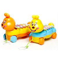 baby development exercises - Baby Kids Note Xylophone Pull Along Musical Development Colorful Toy Gift
