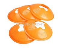 Wholesale 2016 Marker Cone Discs Sports Training Cone Landmark Orange