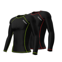 Wholesale Unisex Cycling Jersey Men Women Breathable Outdoor Long Sleeve MTB Bike Running Sport Jersey Cycle Wearing Equipment Y1587