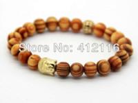 beaded jewelry websites - 2014 New Design MM Wood Beads New Men s Buddha Bracelets Meditation Jewelry beaded gold jewelry beaded jewelry websites