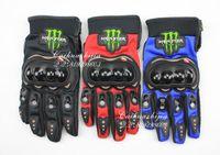Acheter Gants dirt bike-Gros-Livraison gratuite plein Gants doigt de gant pour Moto Vélo bicyclette motocross ciclismo pif vélo dirt bike SUPER MOTO