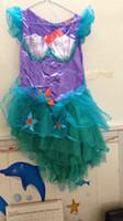Cheap ariel tutu dress Best kids mermaid dress