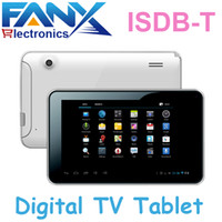 android atv - inch ATV ISDB T Tablet PC RK3028 Dual core Cortex A9 GHZ Android x480 with HDMI Bluetooth Dual Cameras