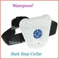 barking dog machine - pack OPP bag New Ultrasonic Pet Dog Anti Bark Stop Training Collar Bark contral dog collar dog training machine