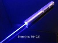 astronomy flashlight - Handheld high power blue laser pointer Adjustable astronomy lazer flashlight better burning Laser Torch