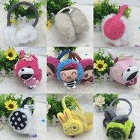 Wholesale The new winter outdoor warm ear package Cartoon fluffy cute protective ear warm ear ear protector