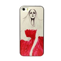 apple sketch - Sketch Red Wedding Beauty Hard Plastic Mobile Phone Case Cover For iPhone S S C