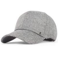 baseball flexfit - Hot Summer Linen Sun Hat Men Sports outdoor Sun Protection Fashion baseball cap Flexfit strapback large brim
