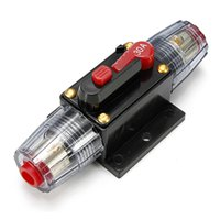Wholesale DC V Car Stereo Audio Circuit Breaker Inline Fuse AMP A Excellent
