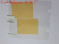 Wholesale Front Clear screen protector For iPhone inch film screen guard With Cloth