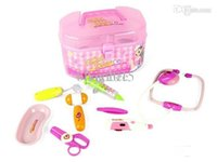 Wholesale Piece Simulation Medical Kit Kids Doctor Role Play Set Carry Case Toy Gift