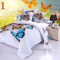 Cheap 3D tiger bedding comforter set print queen king size comforters duvet cover quilt bed linen sheet bedspread cotton