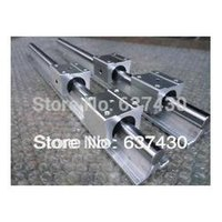 Wholesale 2pcs SBR12 mm linear rail SBR12UU SME12UU linear blocks CNC diy kits d printer