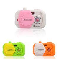 Wholesale Baby Kids Plastic Toy Camera Intelligent Simulation Digital Camera Childrens Study Educational Toys Gifts GM380