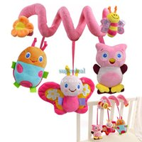 Cheap Wholesale-2014 HOT!!!Mamas Papas Brand Baby Toys New Multifunctional Baby Rattle Toy Baby Mobile Bed Wholesale #7 19237