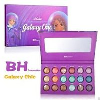 palette 18 color - 2015 Makeup Eyeshadow BH Cosmetics Galaxy Chic Baked Eyeshadow Palette Colors Eye Shadow BH Cosmetics Galaxy Chic Color Drrop Shipping