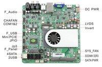 av ethernet - HCIPC M424 ITX HCM10KV1 Mini ITX Motherboard COM Mini PCIE SATA JPIO DDR3 VGA HDMI LVDS V DC AV port
