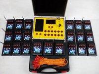 Salvo fuego rápido 2,016 pantalla nuevos productos del estilo 84 Cues fuegos artificiales de control a distancia de disparo de encendido Sistema de radio fuego electrónica Wire