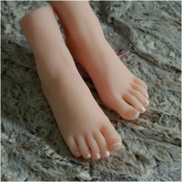 silicone foot products - Sex Product Solid Silicone Doll Female Pussy Feet Fake Women Feet Model Clones Mannequin Whitening Skin