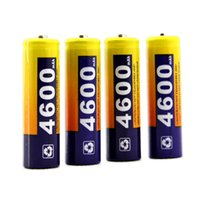 Cheap 4X Rechargeable Batteries Nimh AA 4600 Mah For TOY Pack Battery Quality Charger W0007