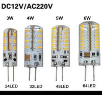 5w led bulb - 10Pcs SMD G4 V W W W W LED Corn Crystal lamp light DC V AC V Silicone Body LED Bulb Chandelier LED LED LED LEDs