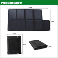 12v solar battery charger - BAT W Fabric fold up solar panel chargers with DC18V USB V for v car batteries